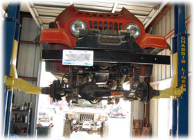 Jeep Customization, Repair, Restoration, and Service